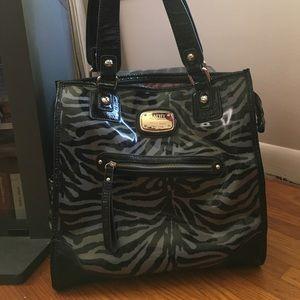 Zebra handbag/tote
